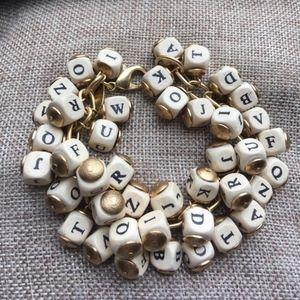 Anthropologie - Lenora Dame Charm Bracelet